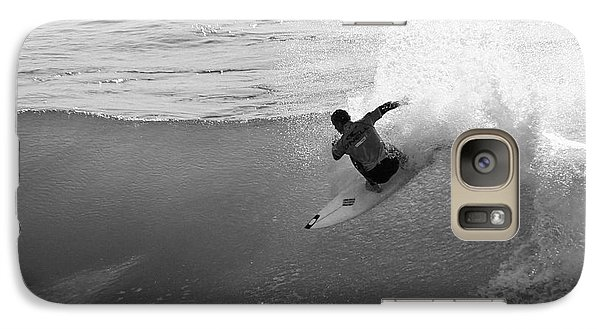 Galaxy Case featuring the photograph Fan Spray by Paul Topp