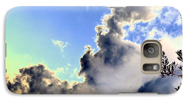 Galaxy Case featuring the photograph Fanciful Sky by Jim Whalen
