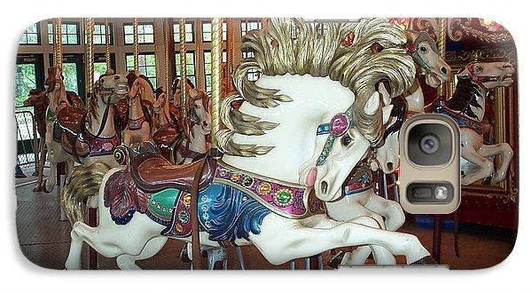 Galaxy Case featuring the photograph Fancy Flashy Pony -ri by Barbara McDevitt