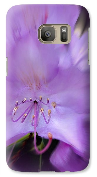 Galaxy Case featuring the photograph Fancy Flora 11 by Mary Beth Landis