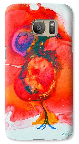 Galaxy Case featuring the painting Fandango II by Joan Hartenstein