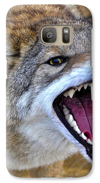 Galaxy Case featuring the photograph Fangs by Adam Olsen