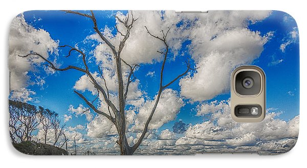Galaxy Case featuring the photograph Fantasma by Paula Porterfield-Izzo