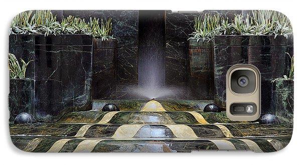 Galaxy Case featuring the photograph Fantastic Fountain by Glenn DiPaola