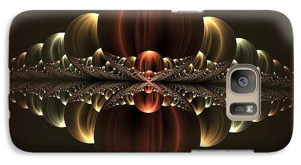 Galaxy Case featuring the digital art Fantastic Skyline by Gabiw Art