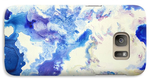 Galaxy Case featuring the painting Fantasy Cloud by Joan Hartenstein