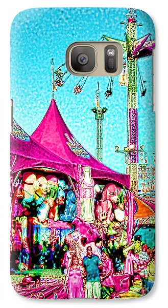 Galaxy Case featuring the digital art Fantasy Fair by Jennie Breeze