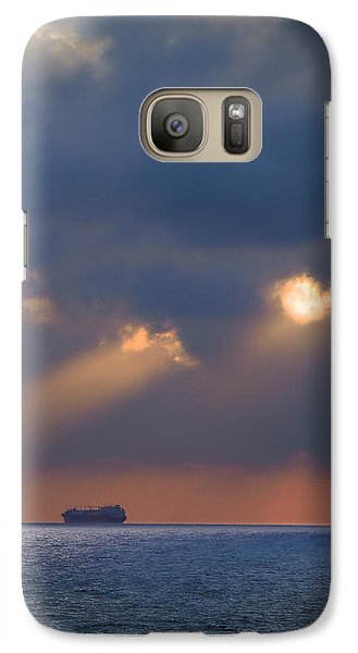Galaxy Case featuring the photograph Far Away by Meir Ezrachi