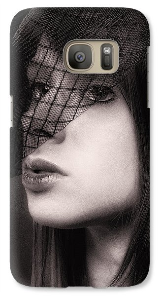 Galaxy Case featuring the photograph Farewell ... by Chuck Caramella