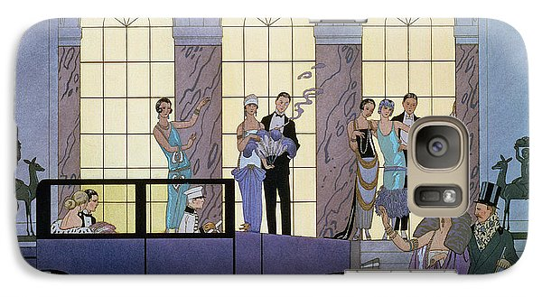 Farewell Galaxy Case by Georges Barbier