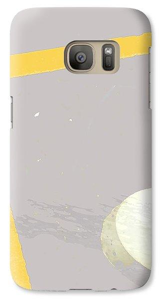 Galaxy Case featuring the digital art Fark by Ken Walker