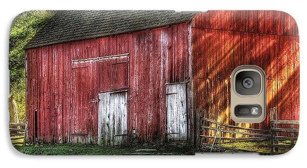 Farm - Barn - The Old Red Barn Galaxy S7 Case