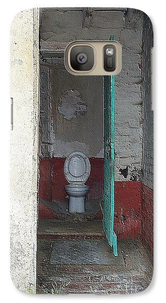 Galaxy Case featuring the photograph Farm Facilities by HEVi FineArt