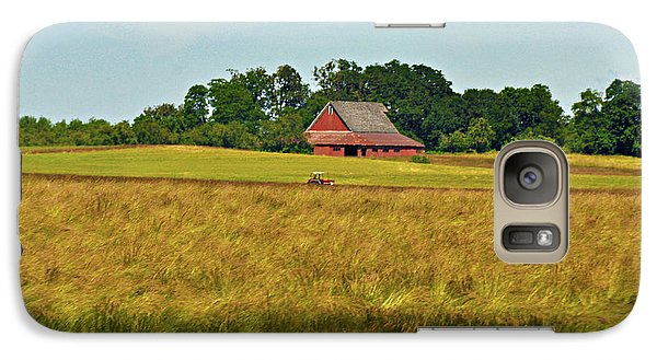Galaxy Case featuring the photograph Farm In Oregon by Mindy Bench