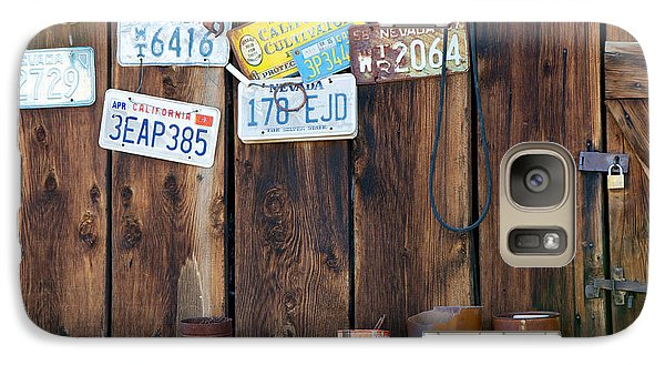 Galaxy Case featuring the photograph Farm Shed Memories by Vinnie Oakes