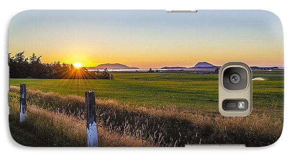 Galaxy Case featuring the photograph Farm To Market Road by Craig Perry-Ollila
