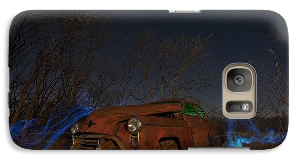 Galaxy Case featuring the photograph Farmers Limo by Keith Kapple