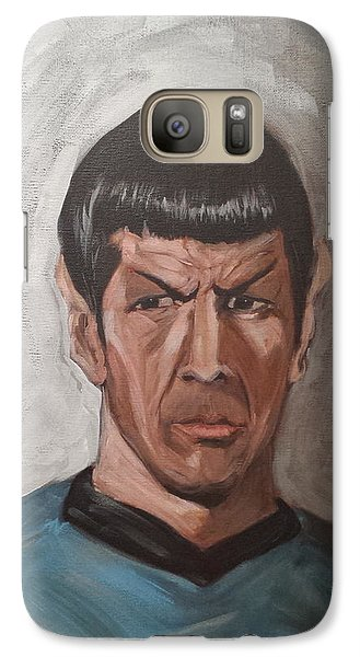 Galaxy Case featuring the painting Fascinating by Tu-Kwon Thomas