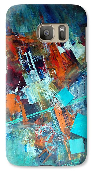 Galaxy Case featuring the painting Fascination by Ron Stephens