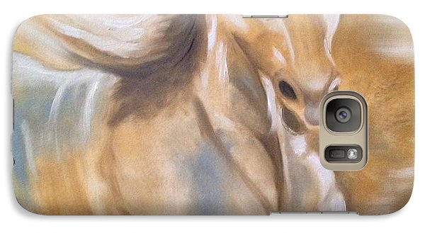 Galaxy Case featuring the painting Fast And Fascinating by Brindha Naveen