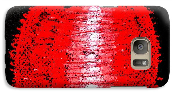 Galaxy Case featuring the drawing Fat Red  by Joseph Hawkins