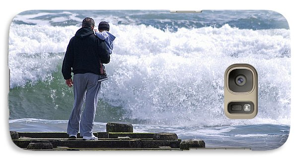 Galaxy Case featuring the photograph Father And Son by Greg Graham