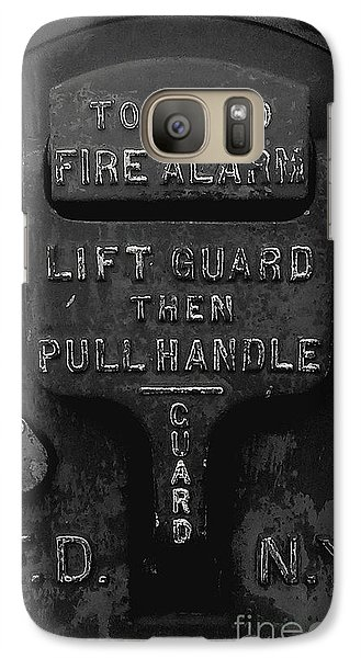 Galaxy Case featuring the photograph Fdny - Alarm by James Aiken