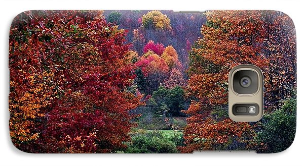 Galaxy Case featuring the photograph Feast Of Color by Christian Mattison