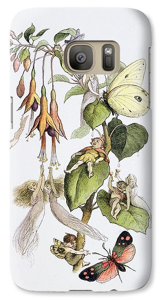Feasting And Fun Among The Fuschias Galaxy Case by Richard Doyle