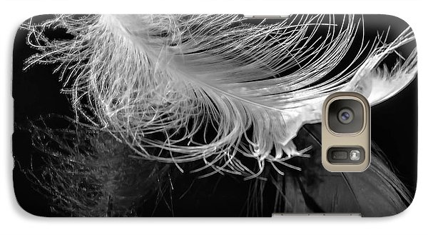 Galaxy Case featuring the photograph Feather by Brian Stevens