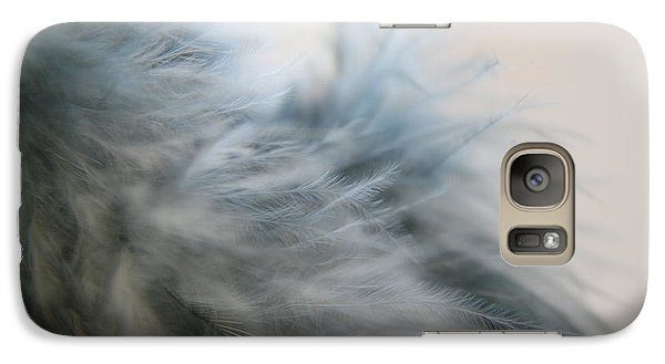 Galaxy Case featuring the photograph Feathered  by Lynn England