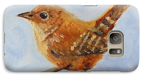 Starlings Galaxy S7 Case - Feathered by Nancy Merkle