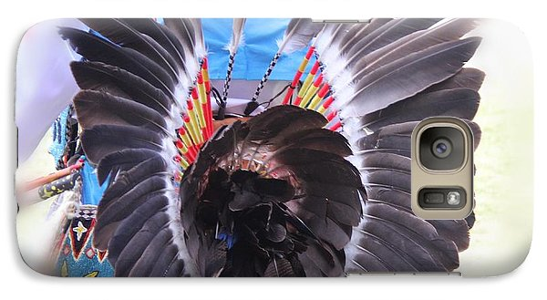 Galaxy Case featuring the photograph Feathers Decoration  by Yumi Johnson