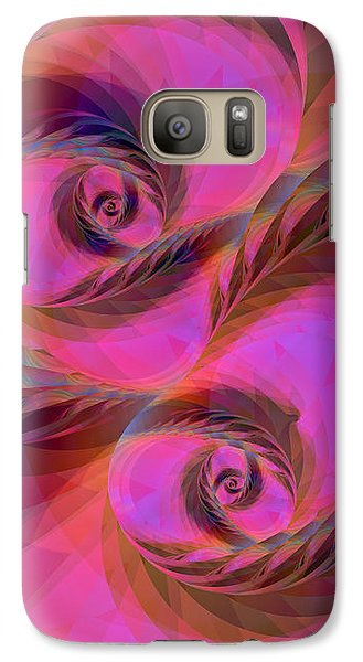 Feathers In The Wind Galaxy S7 Case