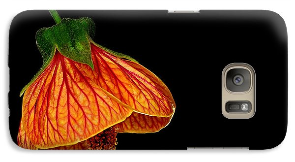Galaxy Case featuring the photograph Features Of A Flower by Marwan Khoury