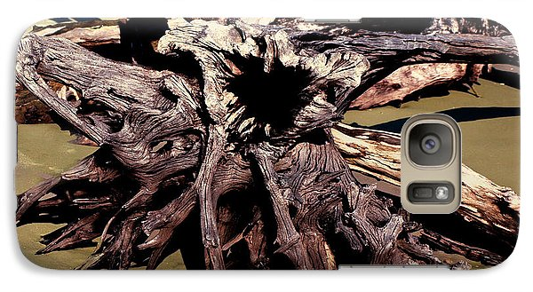 Galaxy Case featuring the photograph Feed Me by Irma BACKELANT GALLERIES