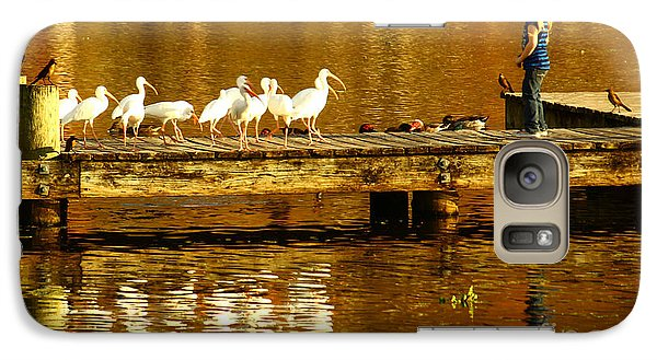 Ibis Galaxy S7 Case - Feed Us by Marvin Spates