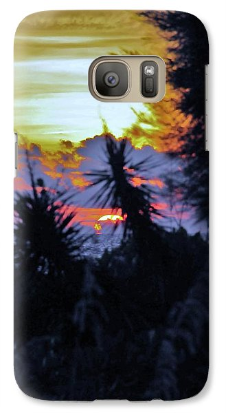Galaxy Case featuring the photograph Feeling A Sunset by Kicking Bear  Productions