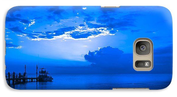 Galaxy Case featuring the photograph Feeling Blue by Phil Abrams