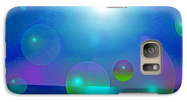 Galaxy Case featuring the digital art Feeling Of Being by Ute Posegga-Rudel