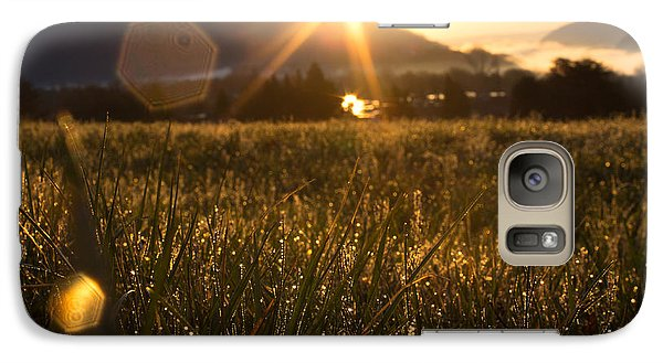 Galaxy Case featuring the photograph Feelings At Dawn by Everett Houser