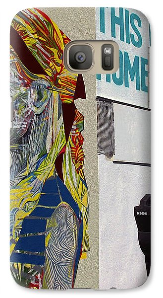 Galaxy Case featuring the photograph Feels Like Home by Ethna Gillespie