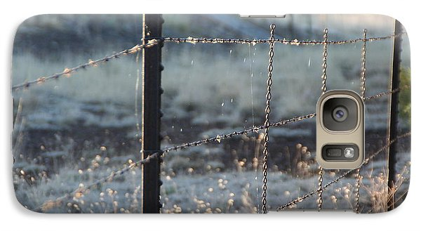 Galaxy Case featuring the photograph Fence by David S Reynolds