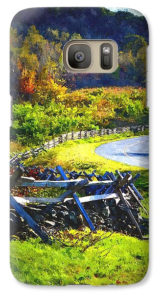 Galaxy Case featuring the photograph Fenced In by Cathy Shiflett