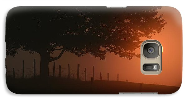 Galaxy Case featuring the photograph Fenced In by Paul Noble