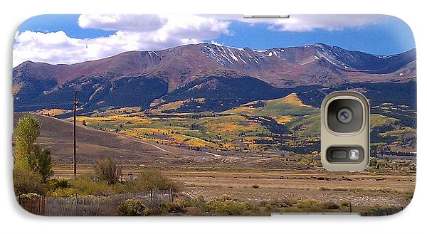 Galaxy Case featuring the photograph Fenced Nature by Fortunate Findings Shirley Dickerson