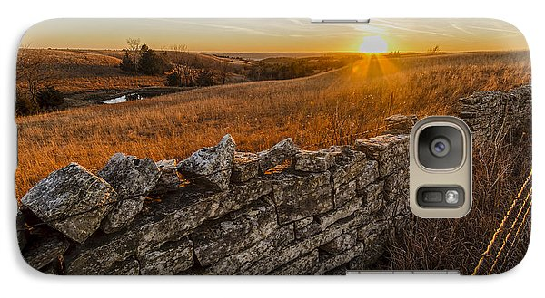 Galaxy Case featuring the photograph Fences by Scott Bean
