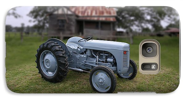 Galaxy Case featuring the photograph Fergie Tractor by Keith Hawley