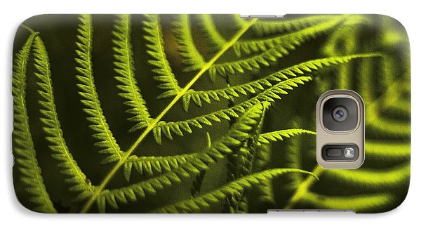 Galaxy Case featuring the photograph Fern by Bradley R Youngberg