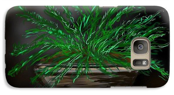 Galaxy Case featuring the digital art Fern by Christine Fournier